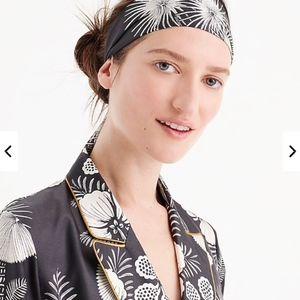 J. Crew Silk headband